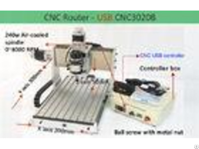 Ball Screw 3 Axis Laptop Usb Cnc 3020 Router For Engraving Drilling Milling Machine