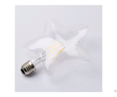 Cheap Price Star Shape M150 4d Led Christmas Decoration Filament Bulb