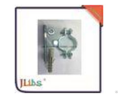 Carbon Steel St12 G Pipe Clamp Fittings With Nut Screw Plastic Anchor