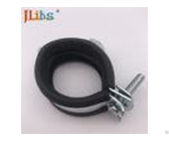 Epdm Rubber Galvanized Pipe Clamp Fittings With Single Double Mount