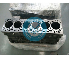 Dongfeng Cummins Isde Diesel Engine Cylinder Block 4955412 4946586