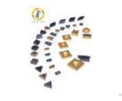 Hard Metal Tungsten Carbide Inserts For Machining Steel Cast Iron 120 200m Min