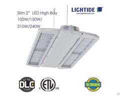 Slim 2″ Led High Bay Lights Etl Cetl Ce Listed 240w