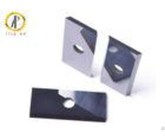 Cemented Woodworking Carbide Inserts Rectangular Wood Cutting Blade Antirust