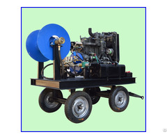 600mm Drain Pipe Cleaning Water Jetting Machine Sewer High Pressure