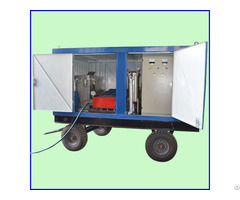 Industrial Pipe Cleaning Cold Water Jet High Pressure Cleaner Machine