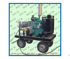 Ship Hull Diesel Engine Paint Removal High Pressure Water Pipe Cleaning Pump