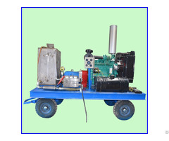 High Pressure Industrial Condenser Water Pipe Cleaning Machine