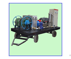 Heat Exchanger Tube Cleaning Water Jet Spray High Pressure Cleaner Equipment