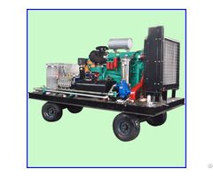 Industrial Cleaning Equipment High Pressure Water Jet Machine