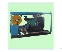 Diesel Engine Drive 800mm Sewer Drain Cleaning Pipe Dredge Machine