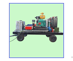 Boiler Tube Cleaning Equipment High Pressure Tank Machine