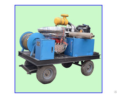 Diesel Engine High Pressure Cleaner Sewer Tube Cleaning Machine