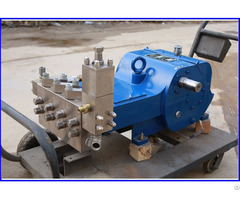 Electric Pressure Test Plunger Pump