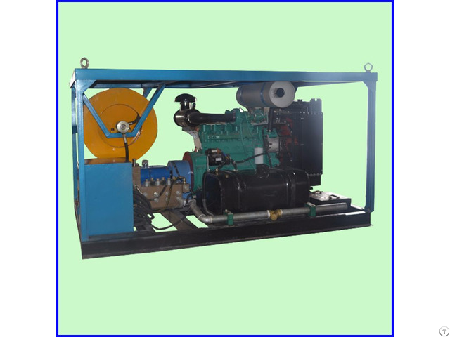Fixed Diesel Sewer Pipe High Pressure Water Jet Drain Cleaner