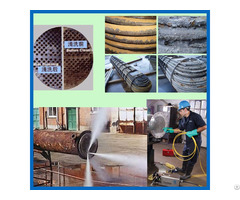 Boiler Tube Cleaner High Pressure Water Storage Tank Cleaning Machine