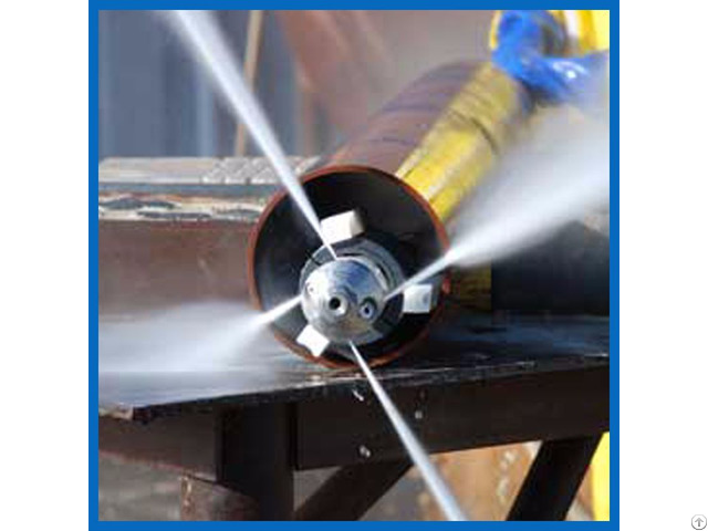 Water Jet Pipeline High Pressure Condenser Pipe Electric Cleaning Equipment