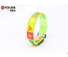 Nylon Webbing High Visibility Armbands Led Light Glowing Flashing Armband 2 5x50cm