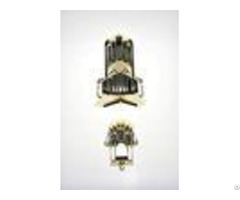 Plastic Corner Casket Hardware Kit 11# Shining Gold Color Delicate Surface