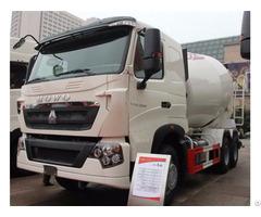 Howo T7h 6x4 10 Wheel Concrete Mixer Truck