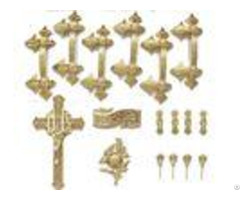 18k Gold Silver Coffin Ornaments Handles 120kg Lifting Weight H9001 B
