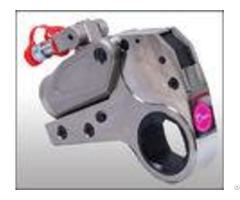 Durable Low Profile Hydraulic Torque Wrench Hexagon Bolt Tensioning Tools