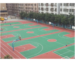 Anti Uv Skid Aging Basketball Tennis Badmonton Acrylic Sports Court Coating Material