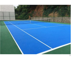 Hard And Cushion Acrylic Tennis Flooring Painting