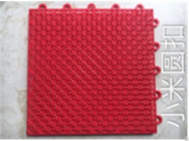 Pp Plastic Interlocking Easy Assembly Tiles For Sport Indoor Outdoor School Roller Skating