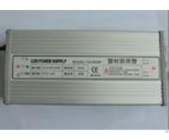 Aluminum Case 400w Led Power Supply Rainproof Ip54 Dc 12v Ac 220v