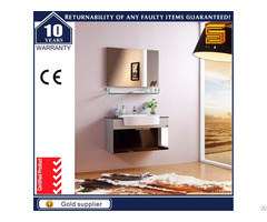 Modern Cheap Wall Mounted Plywood Vanity Bathroom Cabinet