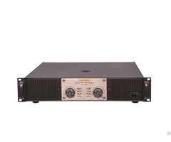 Pd 2600 2u Class H Professional Power Amplifier 2 600w At 8 Honm
