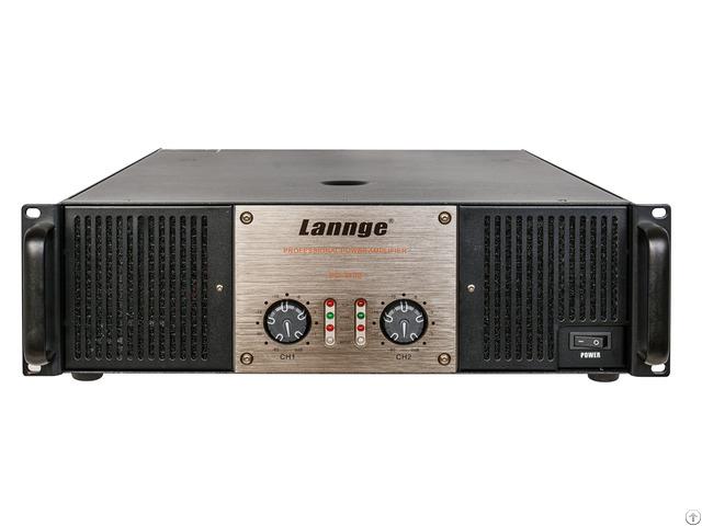 Pd 3102 3u Class H Professional Power Amplifier 2 1000w At 8 Honm