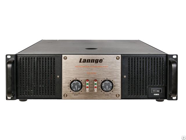 Pd 3142 3u Class H Professional Power Amplifier 2 1400w At 8 Honm