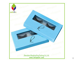 Cardboard Packing Eyelash Cosmetic Box