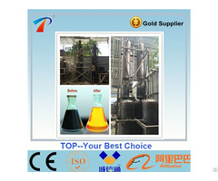 Top Machinery Continous Running Black Motor Oil Recycling Disitllation Machine