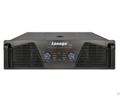 P 3800 3u Class H Professional Power Amplifier 2 800w At 8 Honm
