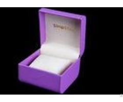 Durable Women Watch Box Luxury Waterproof Velvet Inside For Presentation Gift
