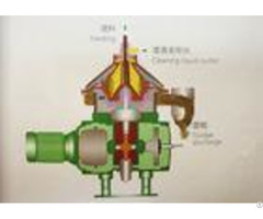 Disc Stack Waste Oil Centrifuge Separator Lower Noise For Liquid Solid Separation