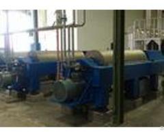 High Efficiency Horizontal Decanter Centrifuge Pvc Sludge Used 220v 380v