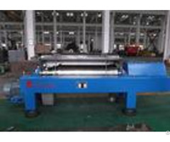 Blue Horizontal Decanter Centrifuge Speed 3600 R Min Starch Washing And Dehydrating