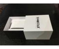 Eco Friendly Paper Watch Box Glossy Matt Lamination Surface Finishing