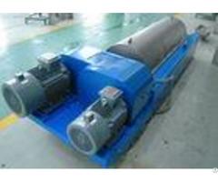 Horizontal Liquid Solid Separation Centrifuge Drum Diameter 350mm Plc Control