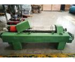 Capacity 5 18 M3 H Sludge Dewatering Centrifuge Double Frequency Conversion Control