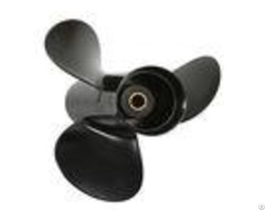 Black Aluminum Alloy Folding Boat Propeller 9 9x13 For Tohatsu Nissan
