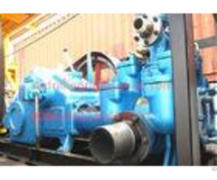 Deep Hole Water Well Drilling Mud Pump Diesel Engine Driven 850 L Min Flow Rate