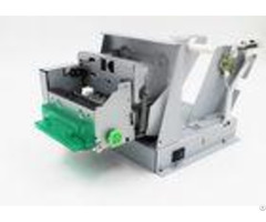 High Speed Mobile Ticket Printer 80mm For Atm Thick Card Paper Support
