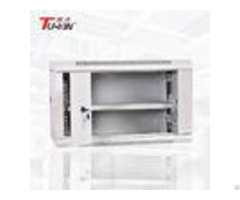 Waterproof Wall Mount Network Cabinet Single Section Stable Structure For Communication