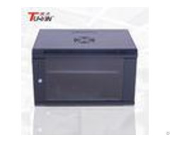 High Standard 6u Wall Mount Data Rack Cold Rolled Steel Structure Loading Capacity 60kg