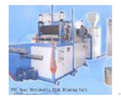Fully Automatic Pvc Film Blowing Machine With 20 40kg H Production Yield